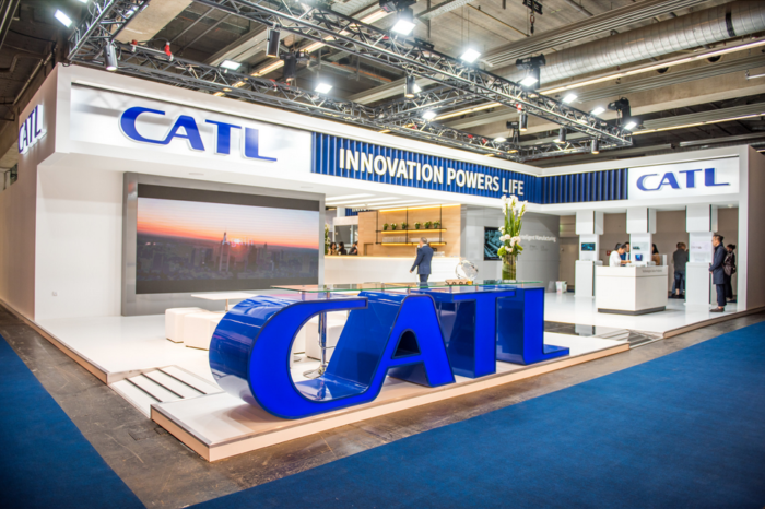 IAA: CATL shows new generation battery packs
