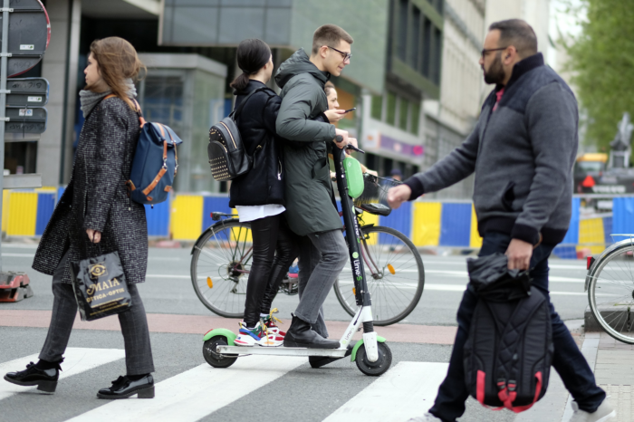 E-stepping and cycling to become less dangerous in Brussels