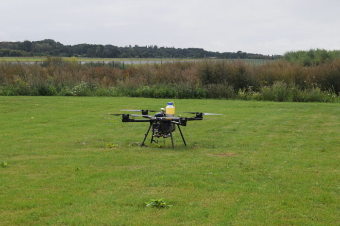 More than 1.000 commercial drone flights a month in Belgium