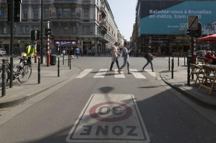 Brussels' 30 kph-zone realistic?