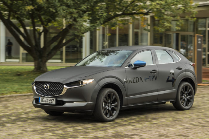 Mazda's view on electric motoring