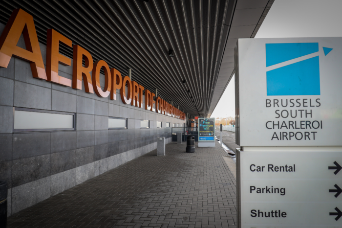 Car parks become 'smart' at Charleroi Airport