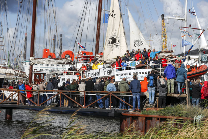 Five weeks at sea for Climate Conference