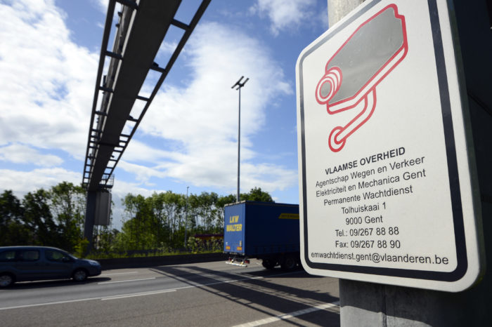 Belgians get record number of fines for excessive speed