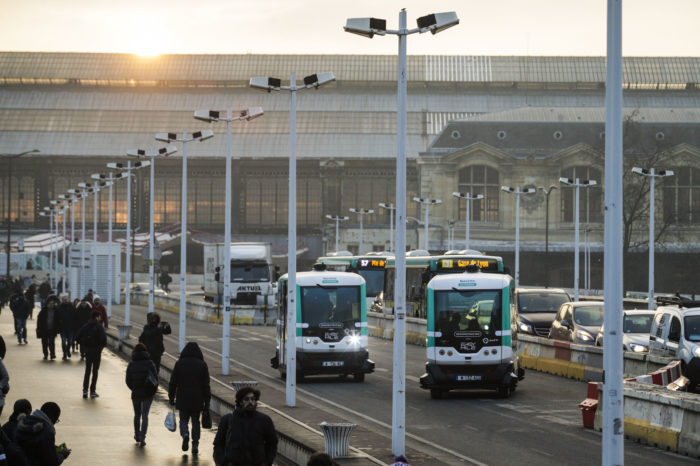 RATP and Mobileye to roll out robocabs in Paris