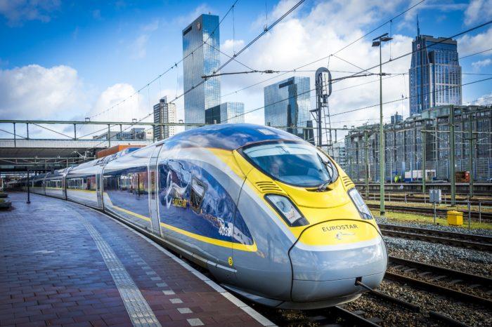 25-year-old Eurostar working toward 'greener' trains