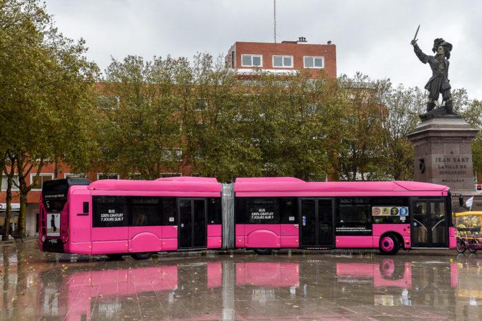 Dunkirk's free public transport: it works