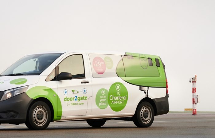 Flibco launches new door-to-gate shared shuttle to Charleroi Airport