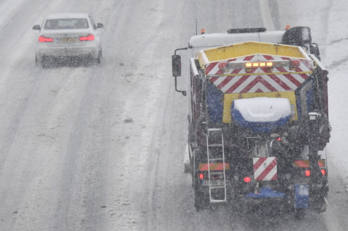 Flanders: smart monitoring system to keep roads ice-free
