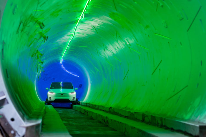 Musk: 'Vegas tunnel operational in 2020'