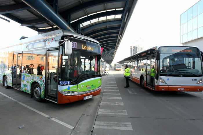 Stib/Mivb testing hydrogen to become diesel-free by 2035