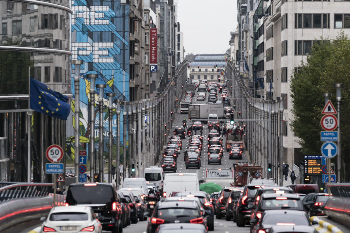 Traffic jams extend journeys with one-third