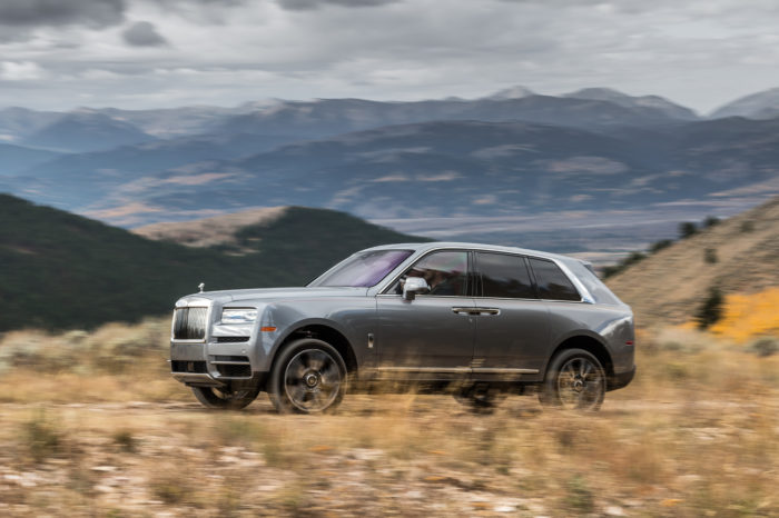 Rolls-Royce's SUV boosts record sales