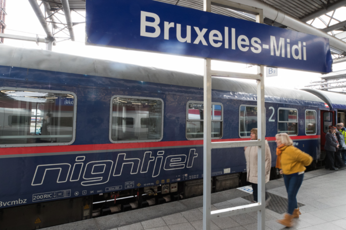 Pressure for more international night trains from Brussels