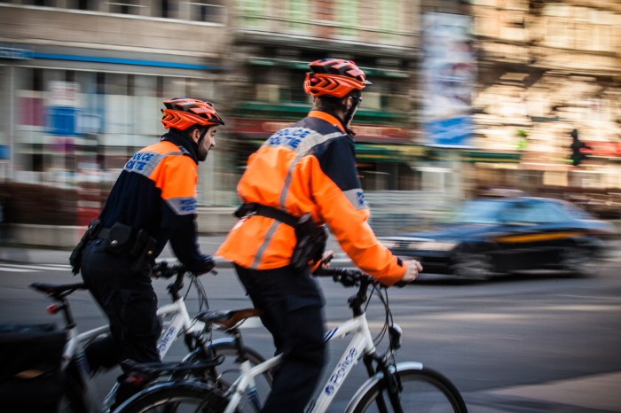 Brussels cycling police: 'Traffic safety calls for harsh repression'