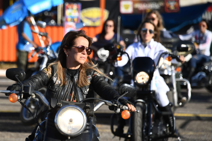Up to 30% of bikers-to-be are women now