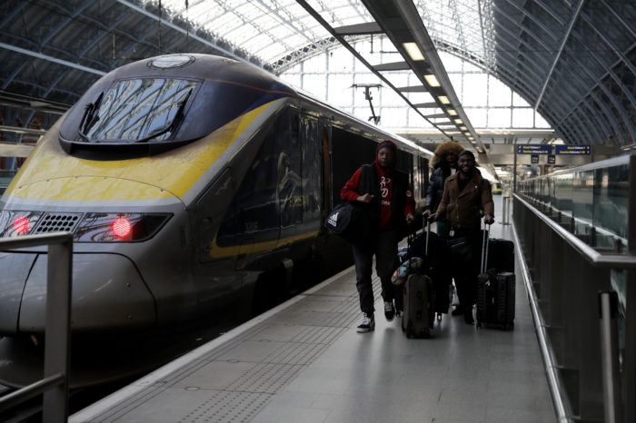 Johnson gives green light for high-speed train to the north