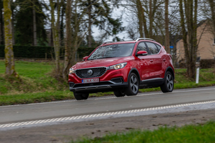 Driving the MG ZS, first Chinese EV on Belgian market