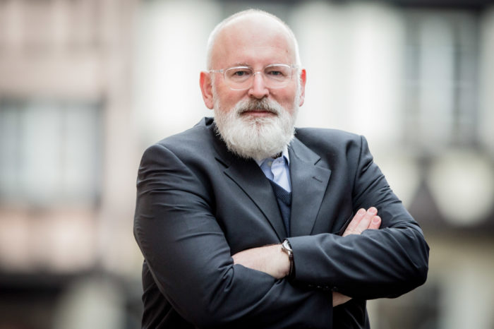 Interview: Frans Timmermans on the EU Green Deal