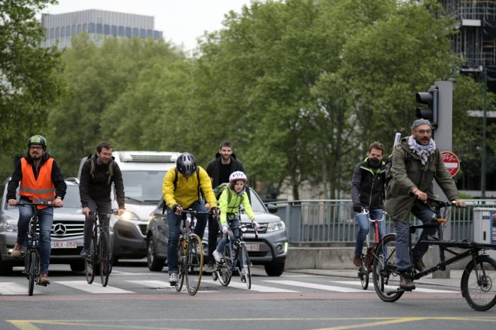 More Brussels citizens choose cycling