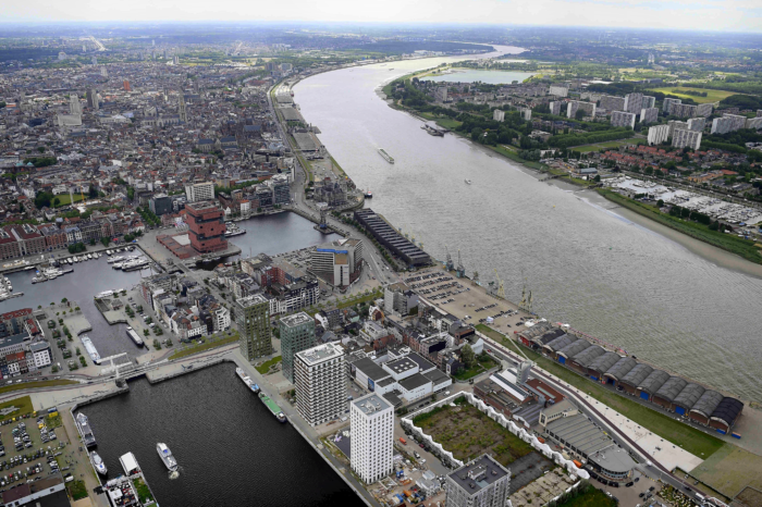 Emissions of CO2 in Antwerp reduced by a quarter