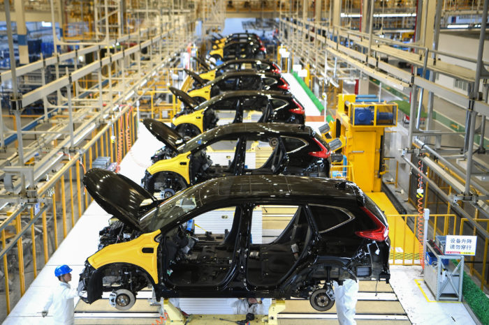 China gingerly restarting, EU carmakers fear big blow