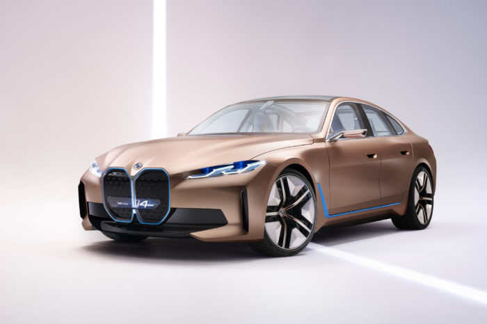 BMW i4 Gran Coupe: first EV of the new era for 2021