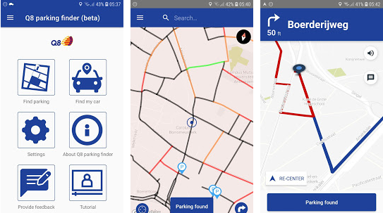 Q8 launches free parking app in Antwerp