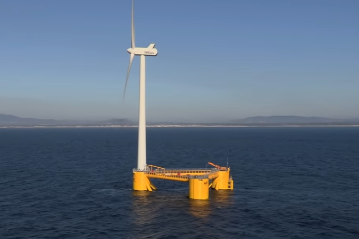 Oil giant Total buys itself into floating wind parks