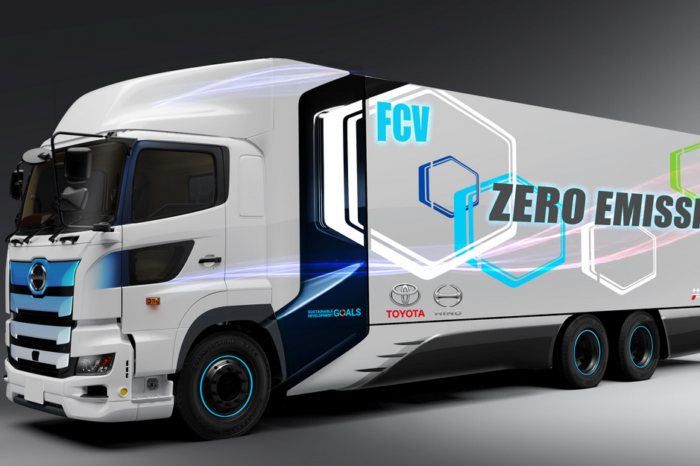Toyota works with Hino on heavy-duty fuel cell truck