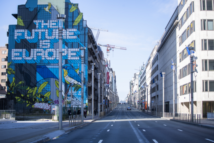 Brussels asks not to exceed 30 km/hour