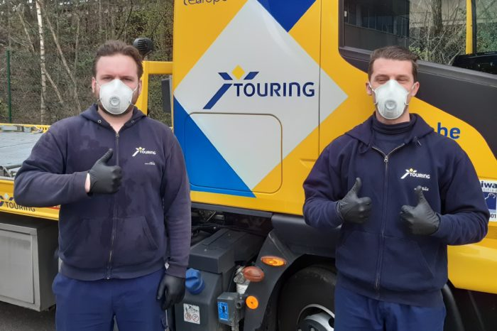 Touring: 'Free roadside service for medical and emergency workers'