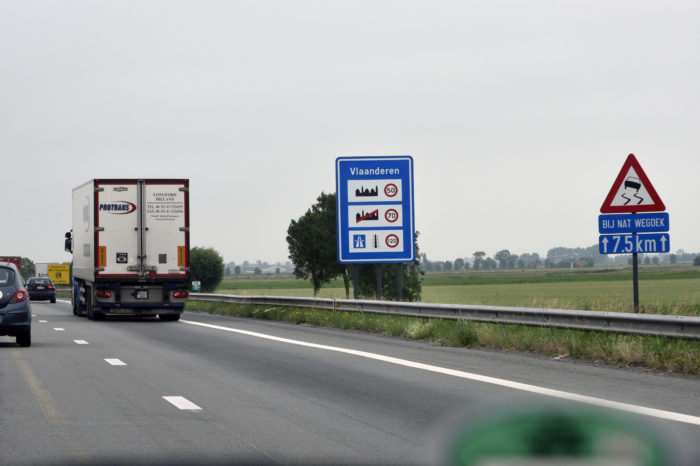 New figures confirm 45% less traffic on Flemish highways