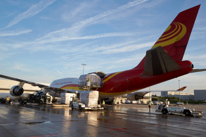 Brussels Airport welcomes new Chinese cargo airline