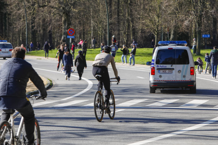 Brussels lowers speed limit to 20 km/h during lockdown