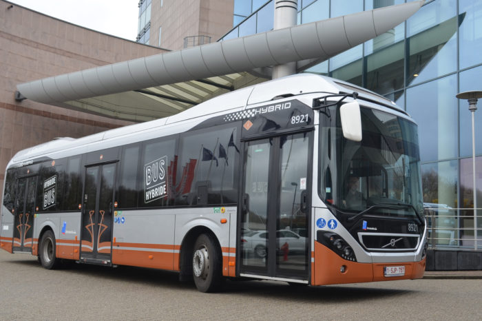 Stib/Mivb orders 128 Volvo electric hybrid buses