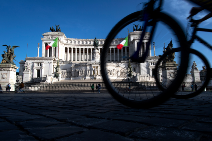 Rome is getting ready for bikes, Romans surely not