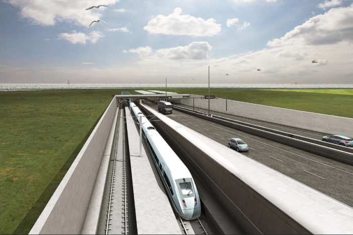 Danish proceed with world's longest submerged road tunnel