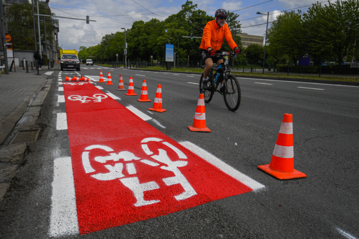 Brussels offers commuters free P+R car parks and bike sharing
