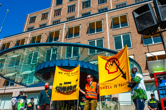Climate activists score 'victory defeat' at Shell's GA