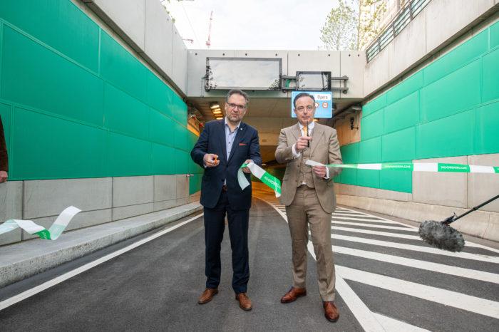 Tunnels under Antwerp's Opera Square finally open