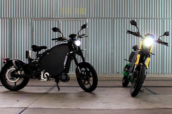 eRockit is marriage between electric bicycle and motorbike