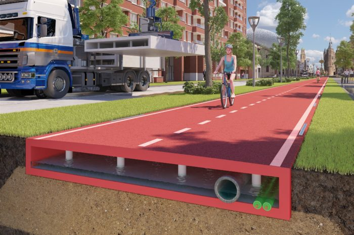 Recycled plastic roads ready for the market
