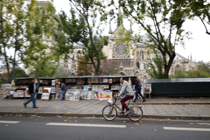 Cycling is booming in France