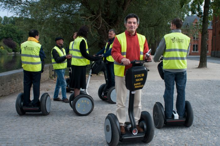 Trendy Segway disappears