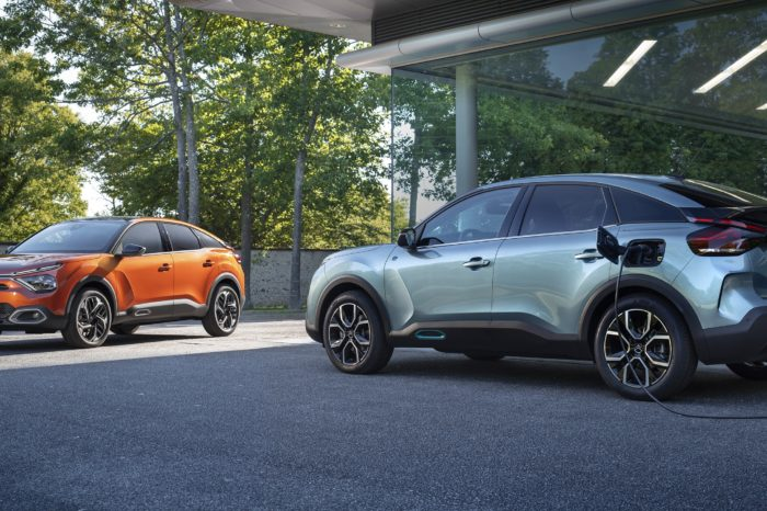 Citroën launches New C4, also fully electric
