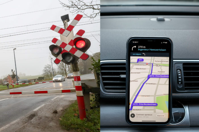 Waze teams up with Infrabel to warn for grade crossings
