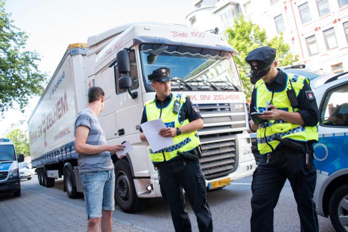 Flanders tackles truck emission fraud