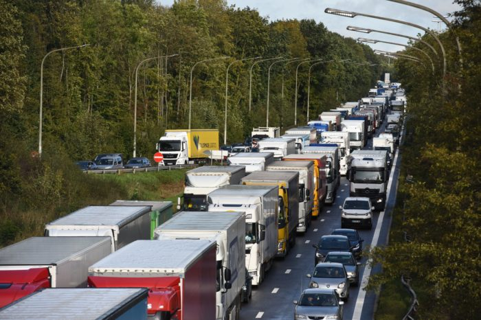 Road traffic is picking up again: 5% increase
