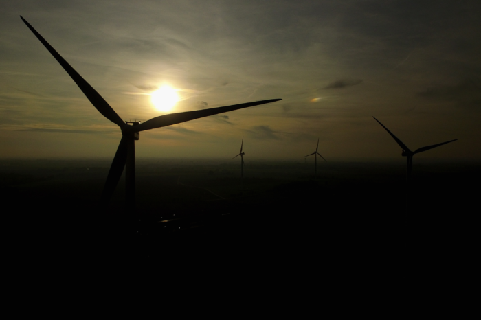 Minister Demir opens site for most powerful Flemish wind farm